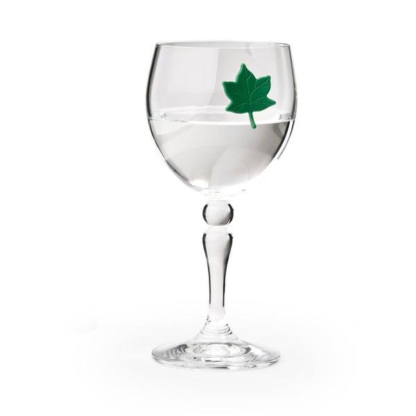 Rozlišovače Leaf my glass, 6 ks