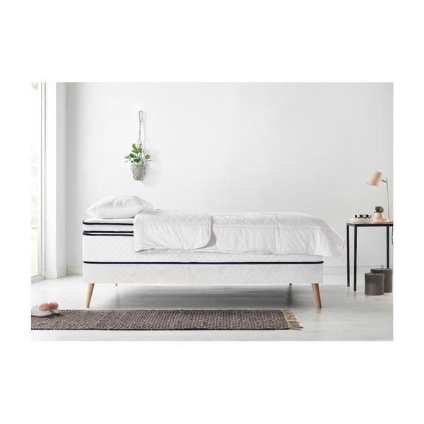 Set dvoulůžkové postele, matrace a peřiny Bobochic Paris Simeo,140x190cm