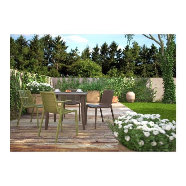 Set 2 scaune de grădină Resol Beekat Simple, verde