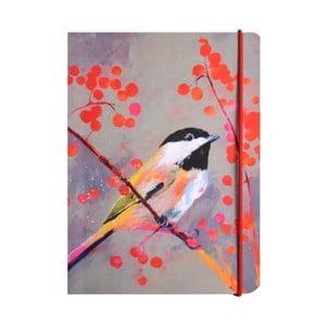 Linkovaný zápisník A6 Carolyn Carter by Portico Designs