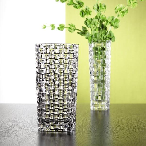 Vază din cristal Nachtmann Bossa Nova, înălțime 28 cm