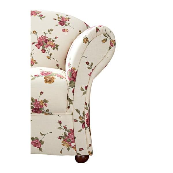 Květovaná dvoumístná pohovka Max Winzer Corona