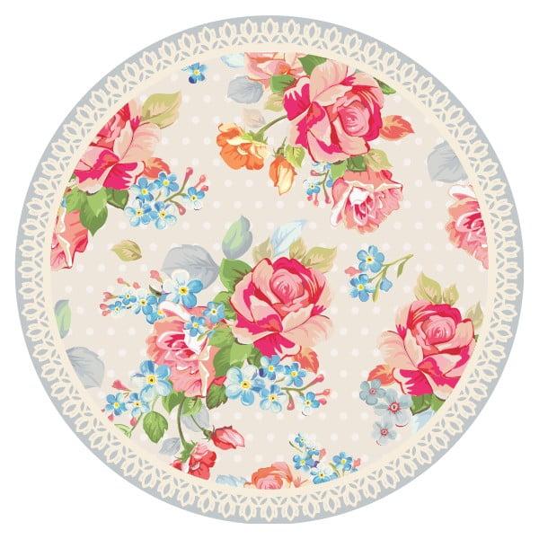 Sada 2 prostírání Nisha Pink Flowers