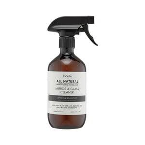 Detergent natural pentru oglindă cu aromă de mentă și lămâie Ladelle