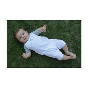 Bavlněné dětské body KlokArt Dobrý den, vel.6-12měsíců