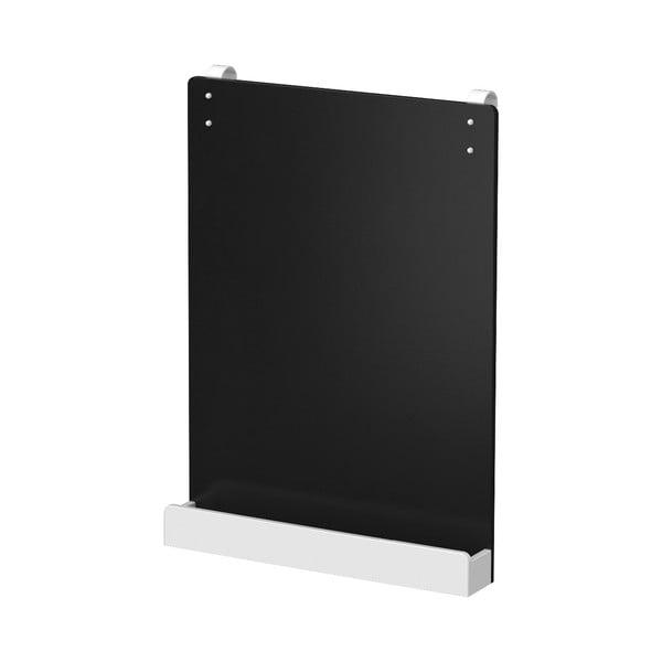 Czarna tablica wisząca do łóżka dziecięcego Flexa White