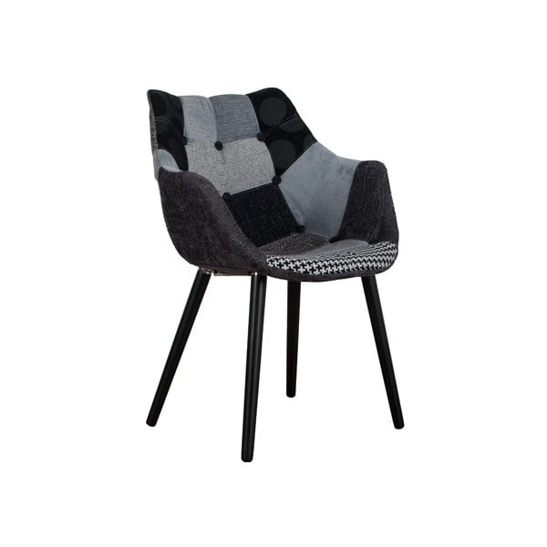 Židle Eleven Patchwork Grey