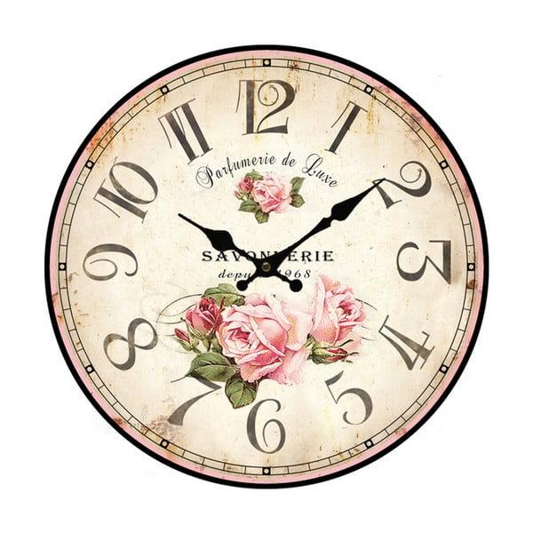 Velké nástěnné hodiny Bolzonella Rose