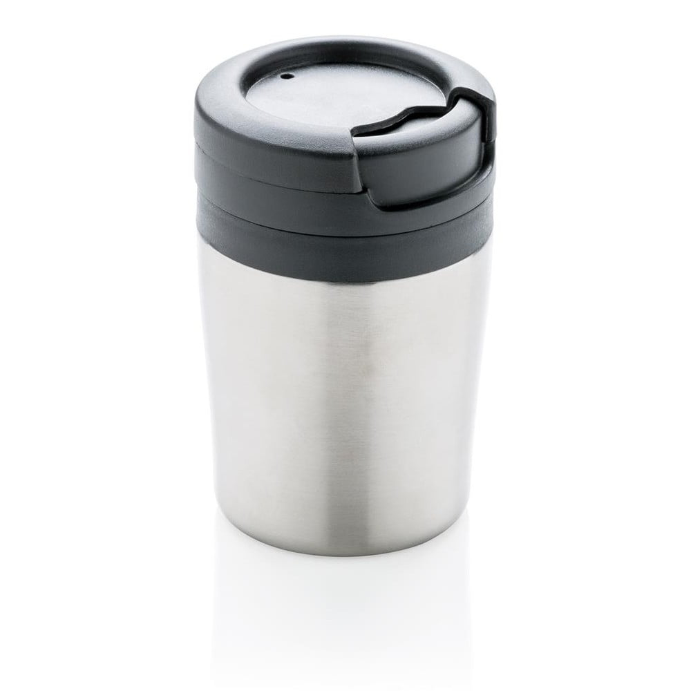 Termohrnek ve stříbrné barvě XDDesign Coffee to Go, 160ml