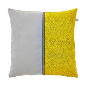 Polštář s náplní Loire Yellow, 45x45 cm