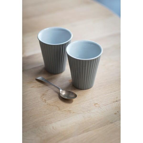 Sada 2 keramických šálků Latte Fint, 10 cm