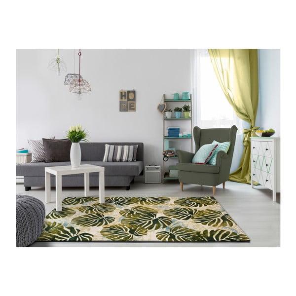 Covor Universal Tropics Multi, 200 x 290 cm, verde