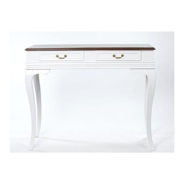 Konzolový stolek Panama Walnut, 100x42x82 cm