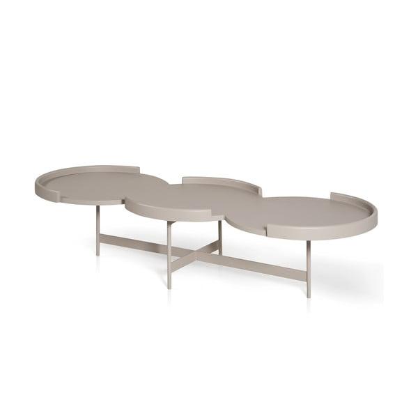 Konferenční stolek E-klipse AL2, bílý
