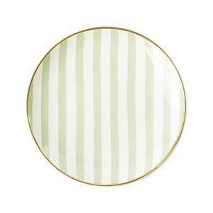 Pruhovaný talíř