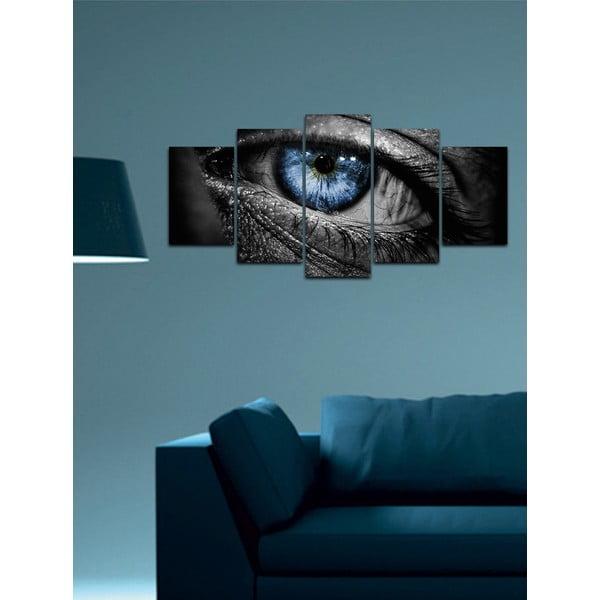 Vícedílný obraz Black&White no. 77, 100x50 cm