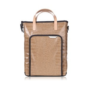 Taška R Tote 103 Crocodile, brown