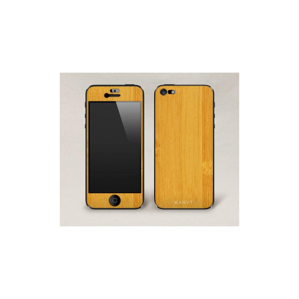 Oboustranný dřevěný kryt na iPhone 5 85c8d083807