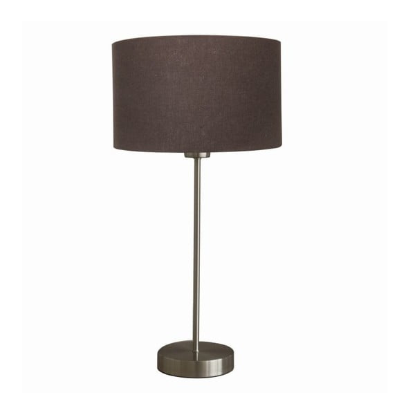 Stolní lampa Efficient Satin/Brown