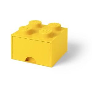 Žlutý úložný box se šuplíkem LEGO®