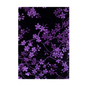 Vlněný koberec Rosono Lilac, 140x200 cm
