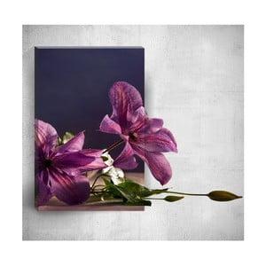 Nástěnný 3D obraz Mosticx Flowers On Table, 40 x 60 cm