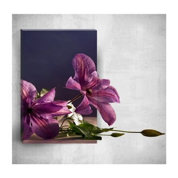 Tablou de perete 3D Mosticx Flowers On Table, 40 x 60 cm de la Mosticx