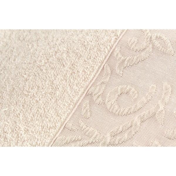 Sada 2 ručníků Burumcuk Beige, 50x90 cm