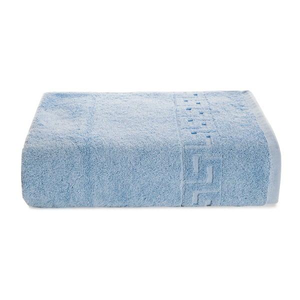 Světle modrý bavlněný ručník Kate Louise Pauline,50x90cm