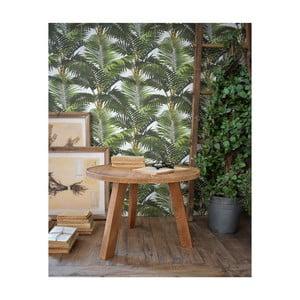 Odkládací stolek z teakového dřeva Orchidea Milano Country, ø60cm