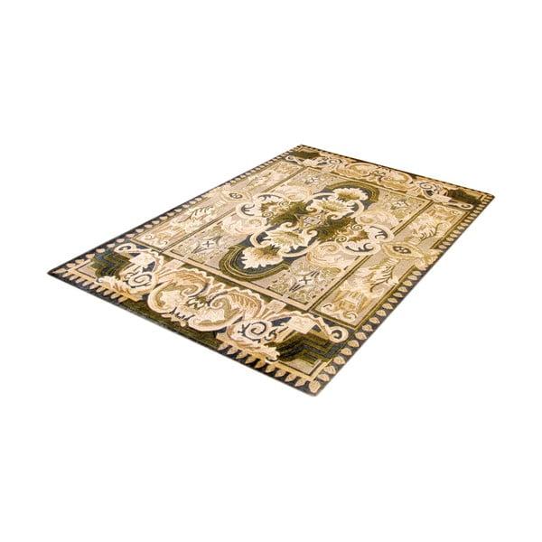 Vlněný koberec Bakero, 120x180 cm, béžový