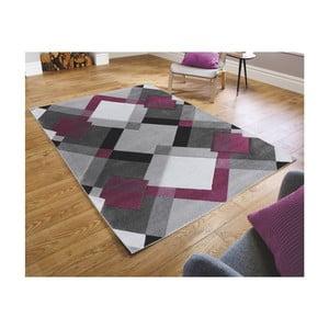 Šedo-fialový koberec Flair Rugs Nimbus Purple, 160 x 230 cm