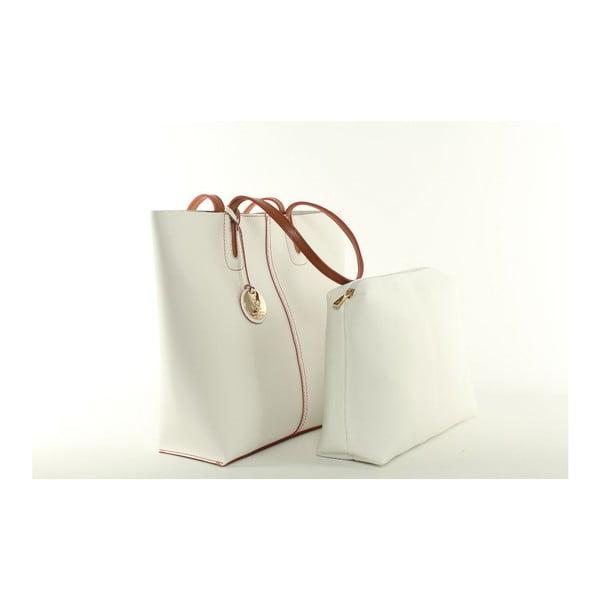 Kabelka BHPC White Tan
