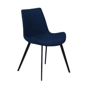Scaun DAN–FORM Hype, albastru închis