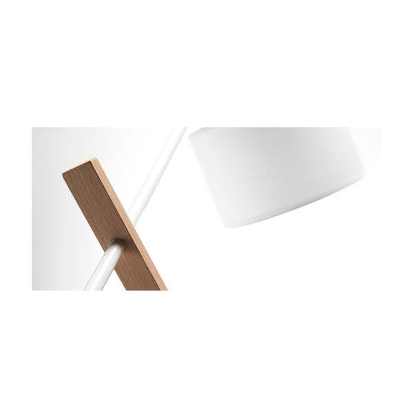 Bílá stolní lampa La Forma Izar