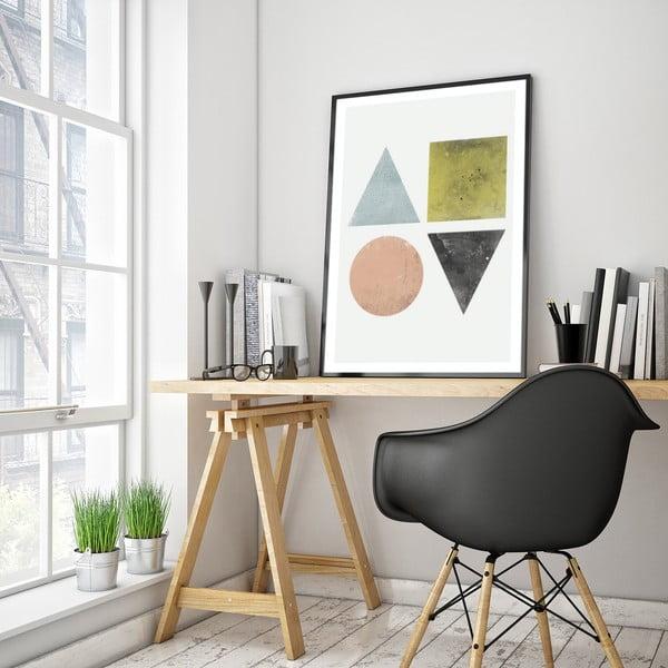 Plakát v dřevěném rámu Nigra, 38x28 cm