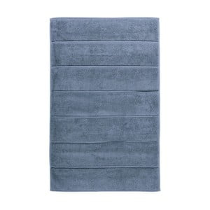 Ocelově modrá koupelnová předložka Aquanova Adagio, 60x100cm