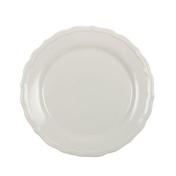 Sada 18 ks keramických talířů Bologne Crema