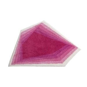 Koupelnová předložka Kolor My World XI 82x130 cm, růžová