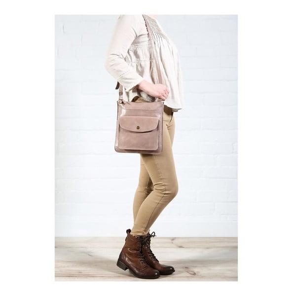 Dámská kožená taška Lilia Zinc