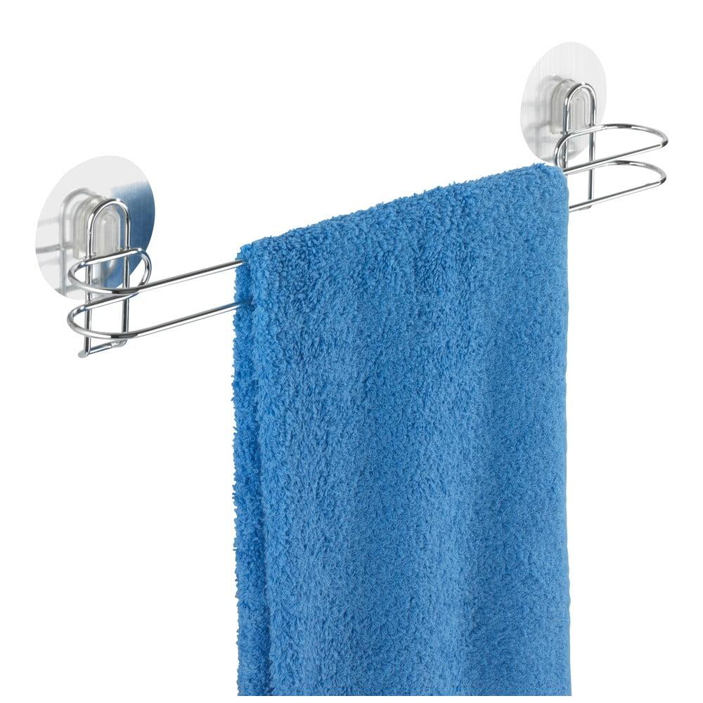 Samodržící věšák na ručníky Wenko Static-Loc, 45 cm