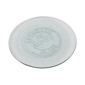 Skleněný talíř Antic Line Authentic Vintage, 20 cm