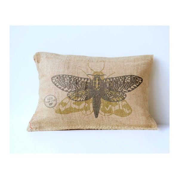 Față de pernă Surdic Yute Moth, 50 x 35 cm