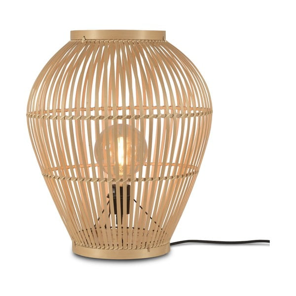 Stojacia jutová lampa Good&Mojo Tuvalu, ⌀42cm