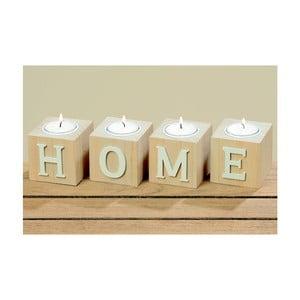 Sada 4 stojanů na svíčku Boltze Home