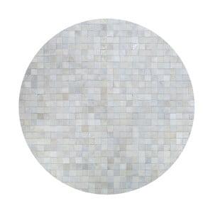 Kožený koberec Pipsa Natural, ⌀160cm