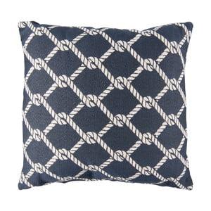 Modro-béžový polštář Clayre&Eef Resterro, 45 x 45 cm
