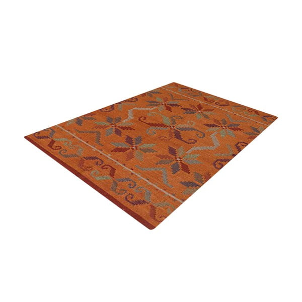 Vlněný koberec Kilim No. 776, 155x240 cm