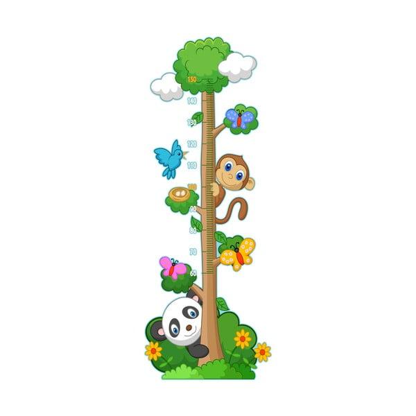 Dětský samolepící metr Ambiance Panda