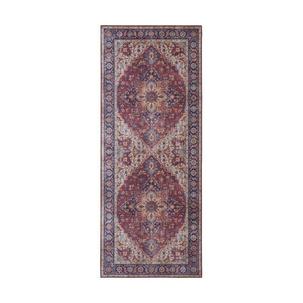 Covor Nouristan Anthea, 80 x 200 cm, roșu - violet